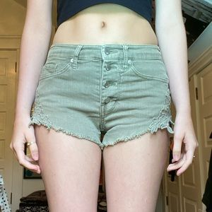 MOSSIMO FLORAL LACE SHORTS